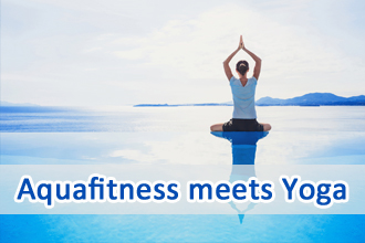 Aquafitness meets Yoga